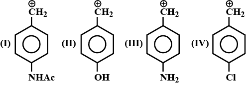 Arrange stability of the given carbocations in dec toppr.com