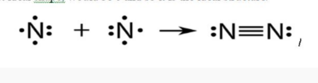 Assertion The Bonds Found In A Molecule Of N2 Are Nonpolar Covalent Reason There Is An Equal Sharing Of Electrons Between The Nitrogen Atoms